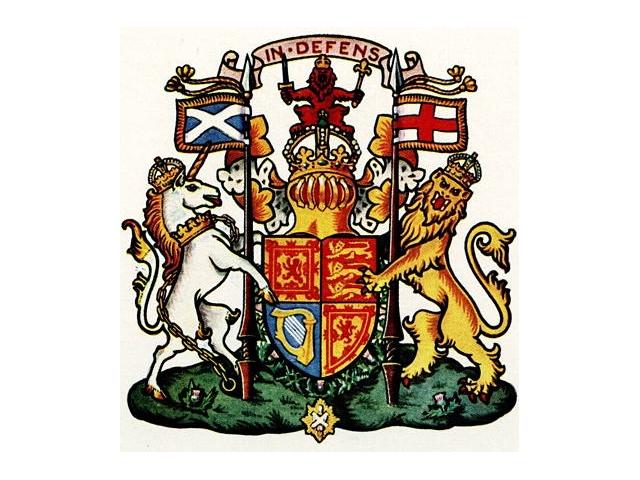 герб шотландии картинки правильно